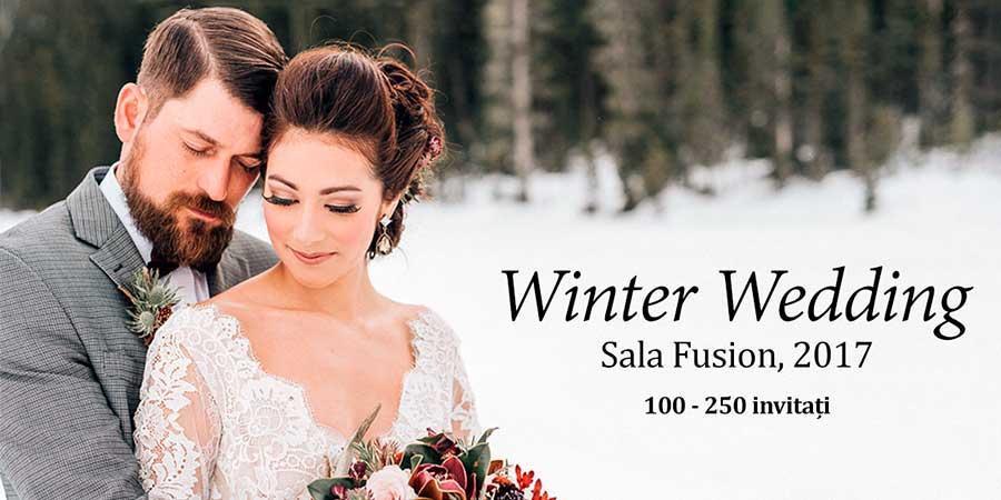 Nunta de iarna Sala Fusion