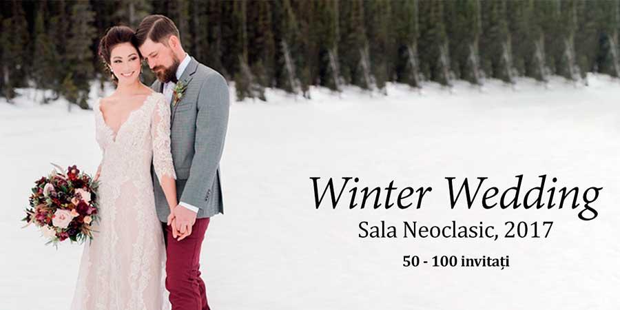 Nuntă de iarnă Neoclasic