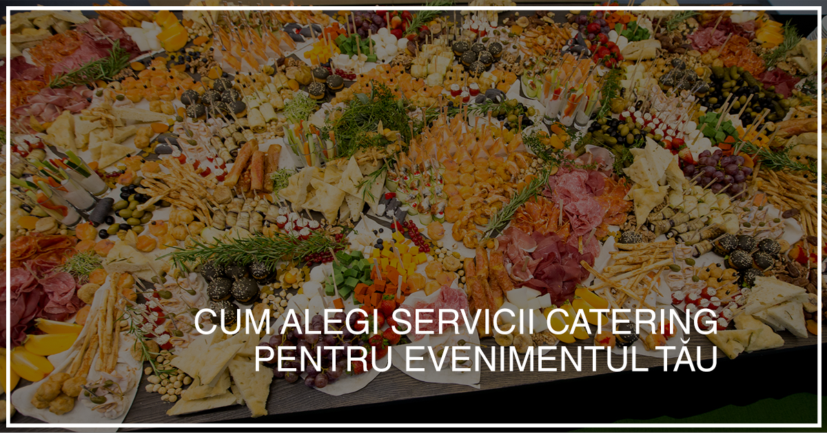 servicii catering