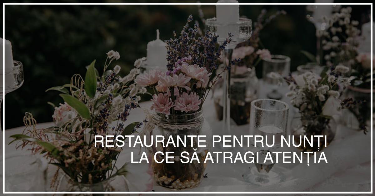 restaurante pentru nunti